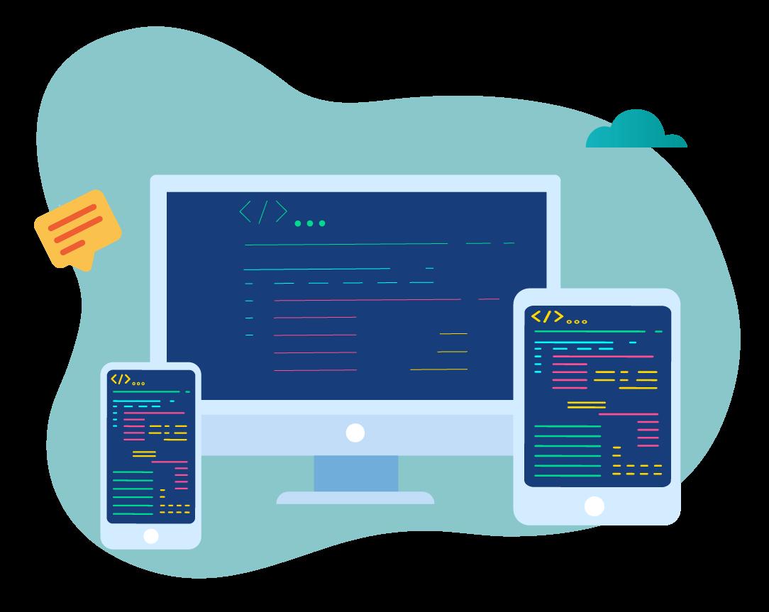 Responsivt design - Nettside tilpasset pc, mobil og nettbrett
