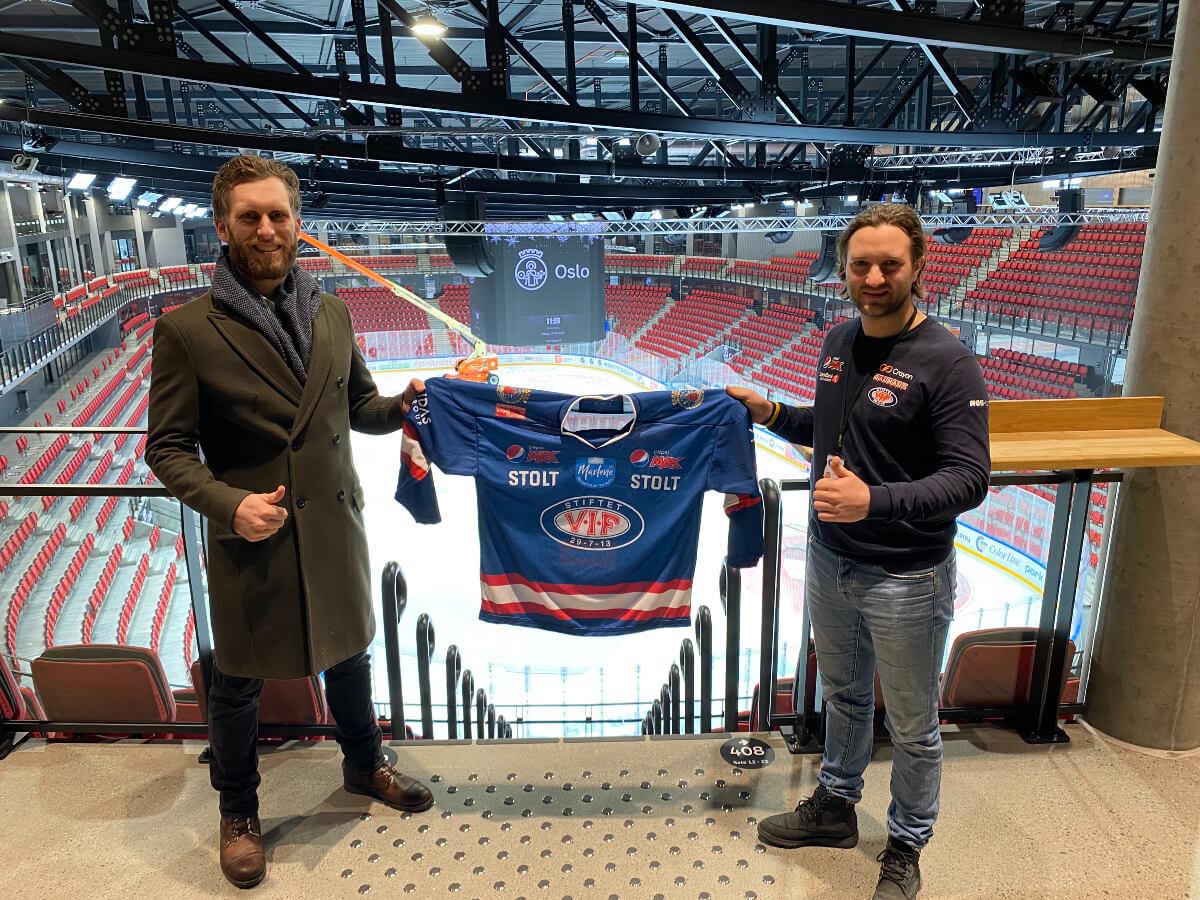 Vålerenga Hockey Evolve Communication Fredrik Jul Andersen Glenn Jensen