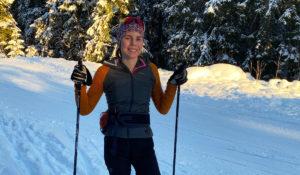 Marita på ski