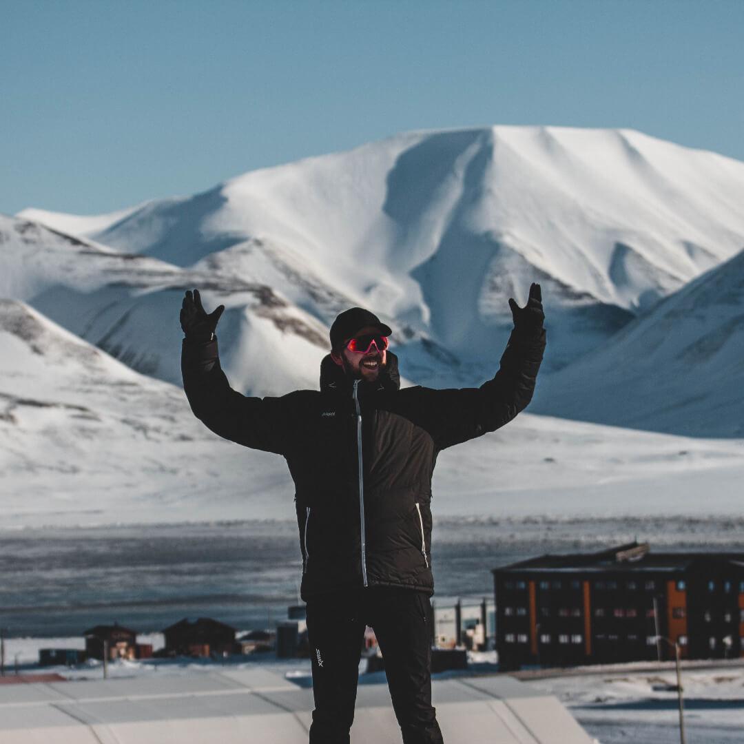 Nicolay på Svalbard