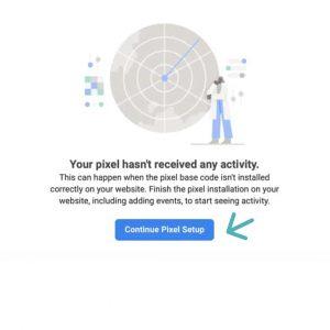 Business manager facebook pixel aktivitet