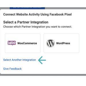 Business manager facebook pixel for WooCommerce og WordPress