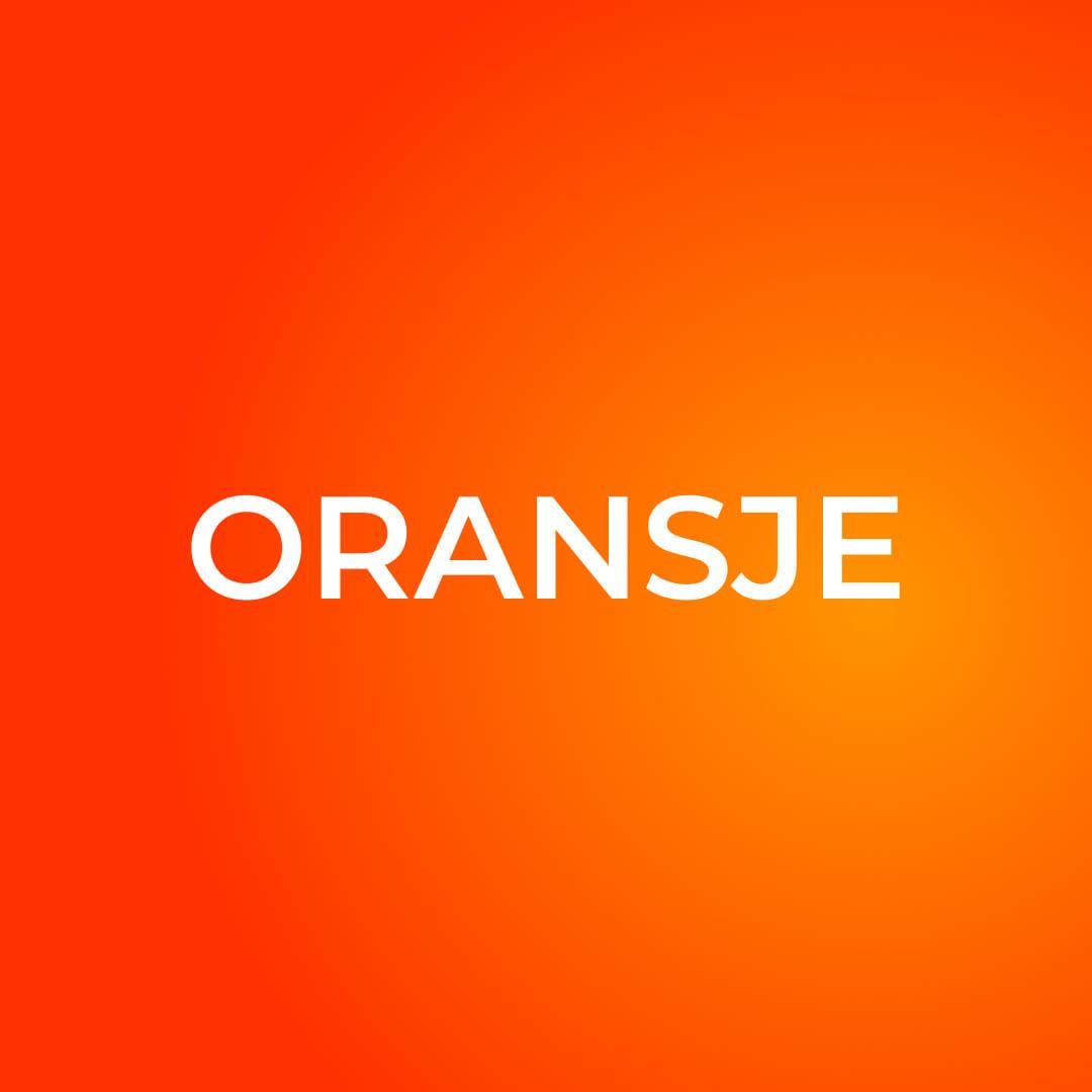 oransje gradient fonter og farger i kommunikasjon
