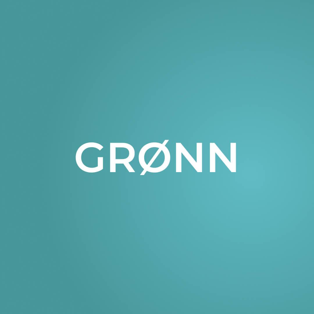 grønn gradient fonter og farger i kommunikasjon