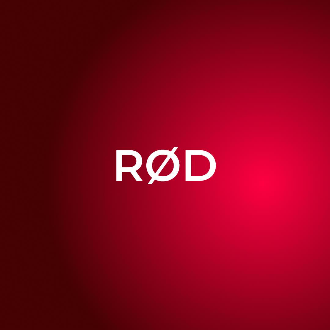 rød gradient fonter og farger i kommunikasjon